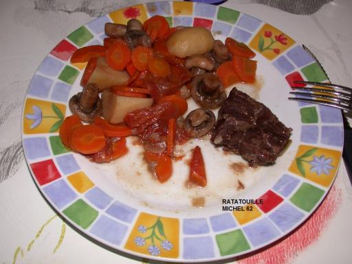 Photo 2 de recette Joue de boeuf en daube , Marmiton