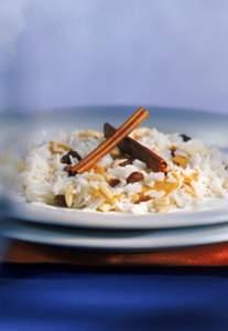 Mango-Paprika-Reispfanne