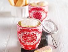 Käsekuchen-Mug-Cakes