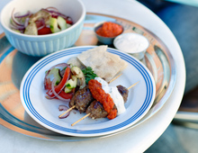 Lammhack-Kebab