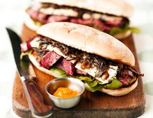 The Ultimate Steak and Stilton Sandwich
