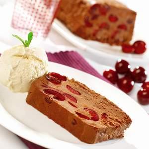 Chocolate and Picota Cherry Terrine