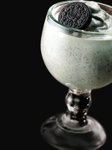T.G.I Friday s Barnamint Baileys milkshake
