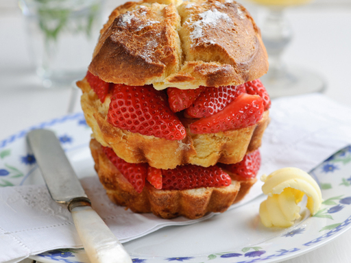 Sweet Eve Strawberry Brioche Sandwich