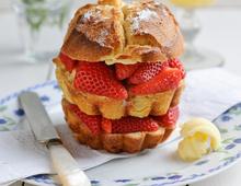 Sweet Eve Strawberry Brioche Sandwich