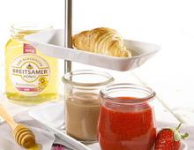 Honig-Nusscreme zum Frühstück