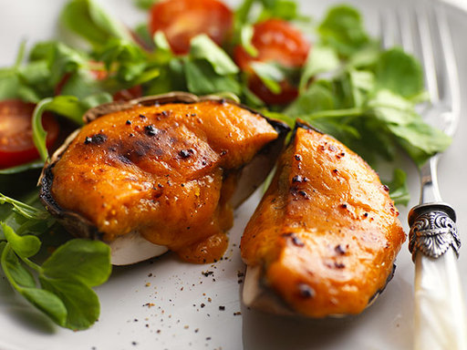 Indian Grilled Mushrooms