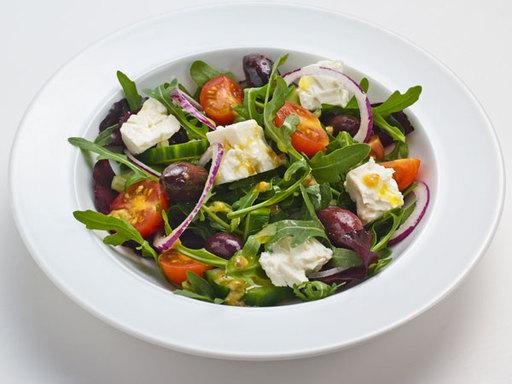 Smoked Greek Salad