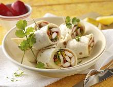 Hähnchen im Tortilla-Mantel