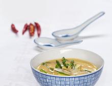 Thai-Spargel-Suppe