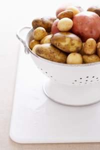 Kartoffelsalat mit Speck und Balsamico