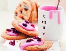 Christmas Cookies mit Cranberrys