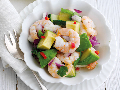 Hass Avocado and Prawn Ceviche
