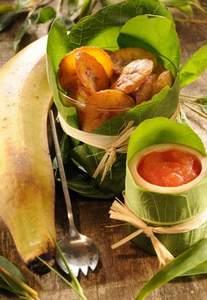 Exotisch gewürzte Bananen-Pommes