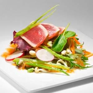 Tuna Vodka Salad with Miso