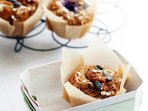 Apple and Blackberry Muffins