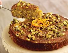 Catherine Fulvio's Pistachio and Orange Cake