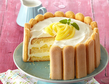 Apfel-Gin-Torte