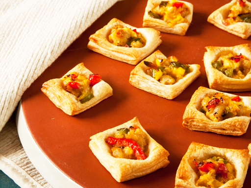 Ackee and Salted Fish Tartlets