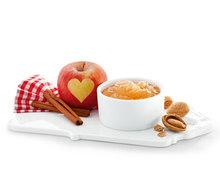 Apfelbrotaufstrich mit Marzipan und Zimt