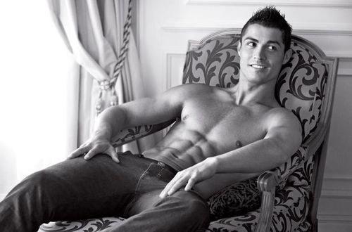Cristiano Ronaldo - foto pubblicata da maxietangy