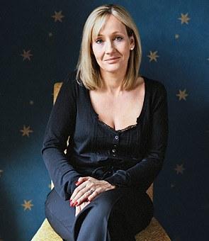 JK Rowling - foto publicada por roselablonde