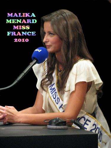 Malika Ménard (Miss France 2010) - photo postée par gillou07