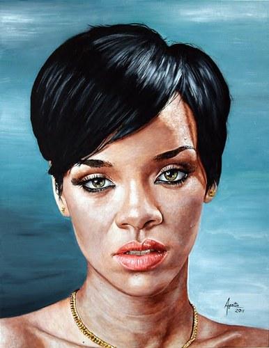 Rihanna - foto publicada por artgus