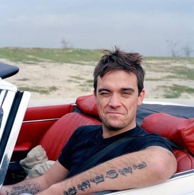Robbie Williams - foto pubblicata da robimania