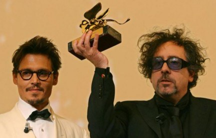 Tim Burton - photo postée par punkophelia