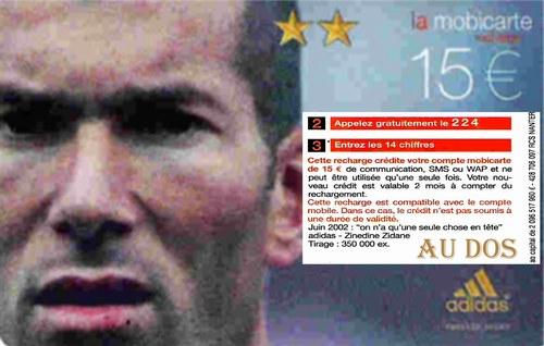 Zinedine Zidane - Bild veröffentlicht von ooilklioo