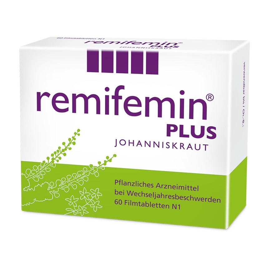 Remifemin plus - Pflanzliches Arzneimittel bei Wechseljahresbeschwerden