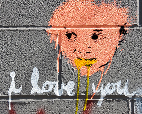 Graffiti - I love you