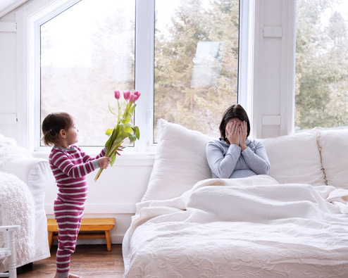 Valentinstag für Mamas