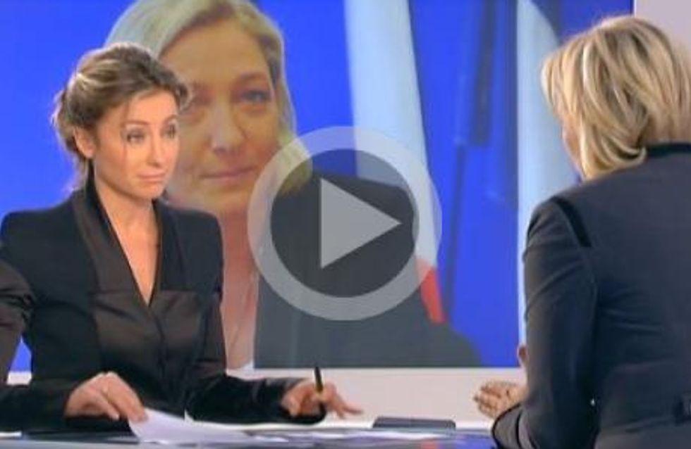 Le Pen Vs Lapix : Victoire par KO ou simple journalisme ?
