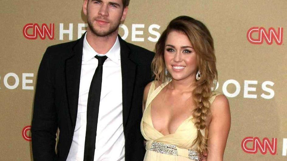 Miley Cyrus : Décolleté plongeant pour sortir avec son chéri
