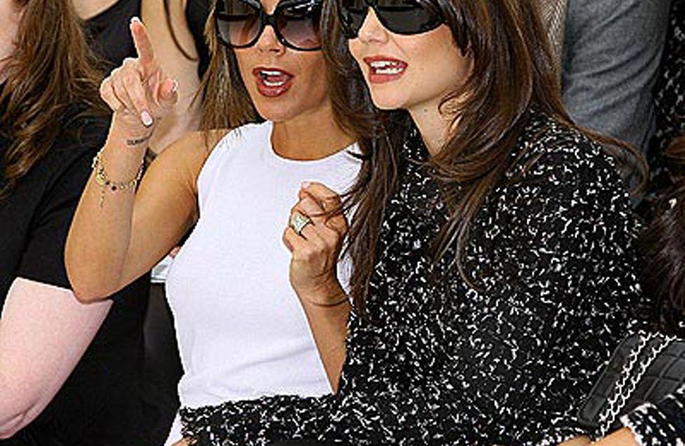 Victoria Beckham : Elle appelle Katie Holmes pour coordonner leurs tenues