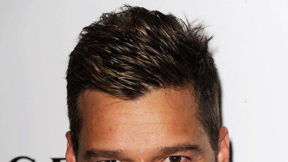 Glee : Ricky Martin s'éclate sur le tournage (Photos)