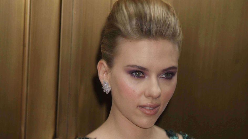 """Scarlett Johansson : """"J'ai beaucoup d'amour autour de moi"""""""