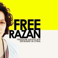 Syrie : La blogueuse Razan Ghazzawi libérée
