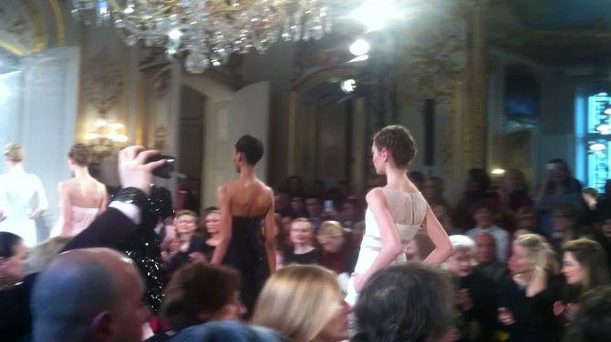 Défilé Christophe Josse haute couture printemps-été 2012 pintemps-été