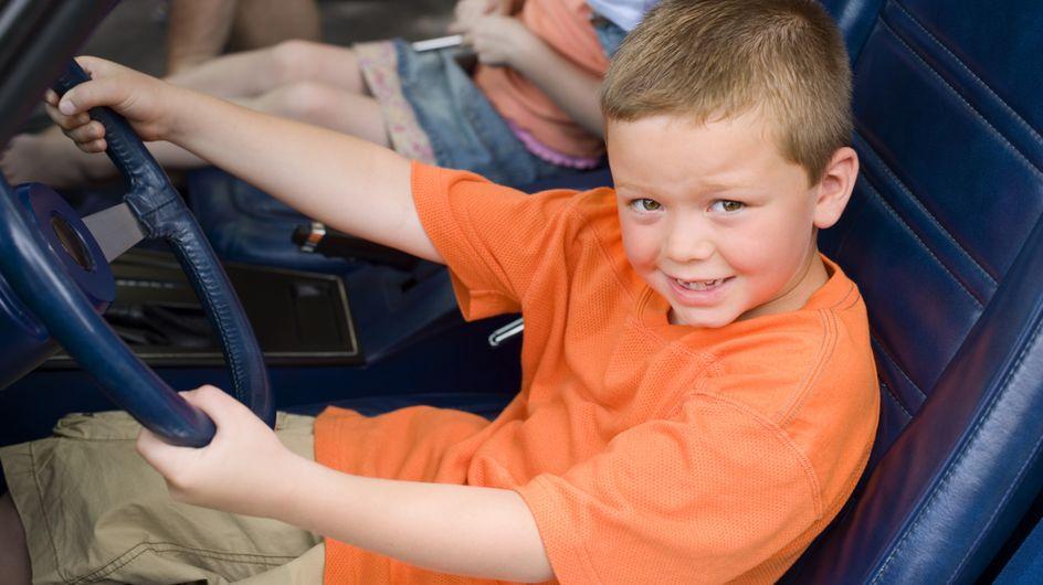 Insolite : En retard pour l'école, à 10 ans, il prend la voiture de son père