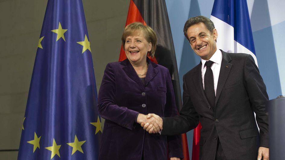 Nicolas Sarkozy : Angela Merkel lui apporte son cadeau d'anniversaire !