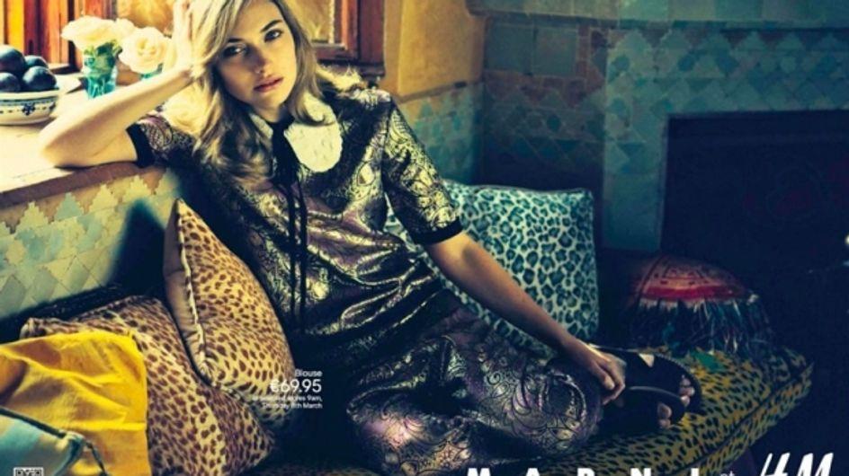 H&M : La première image de la campagne Marni !