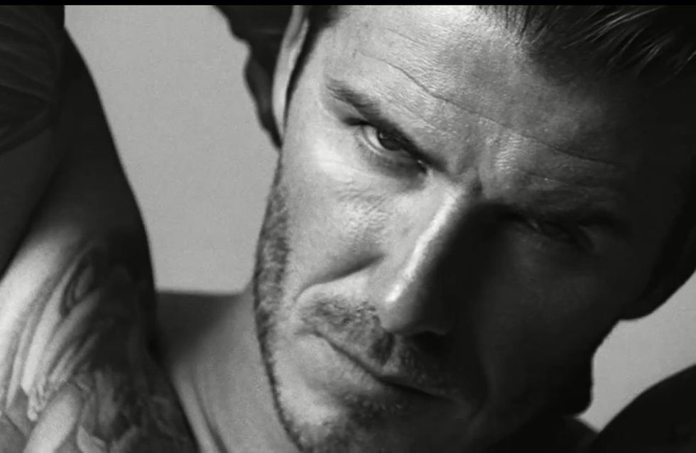 H&M : David Beckham en slip et en vidéo (Vidéo)