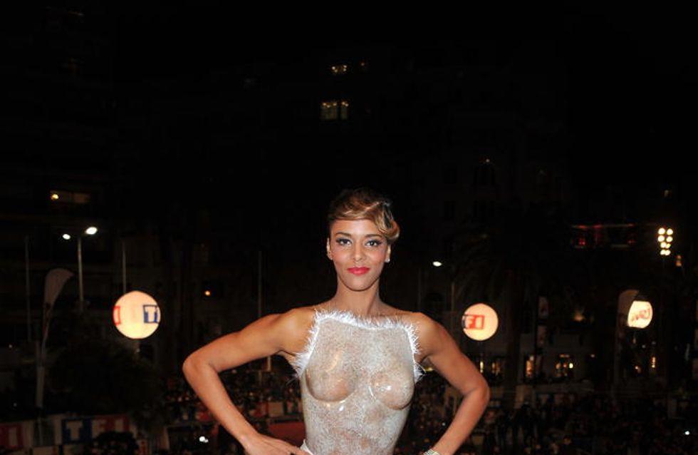 NRJ Music Awards : La robe de Shy'm pas faite pour le tapis rouge