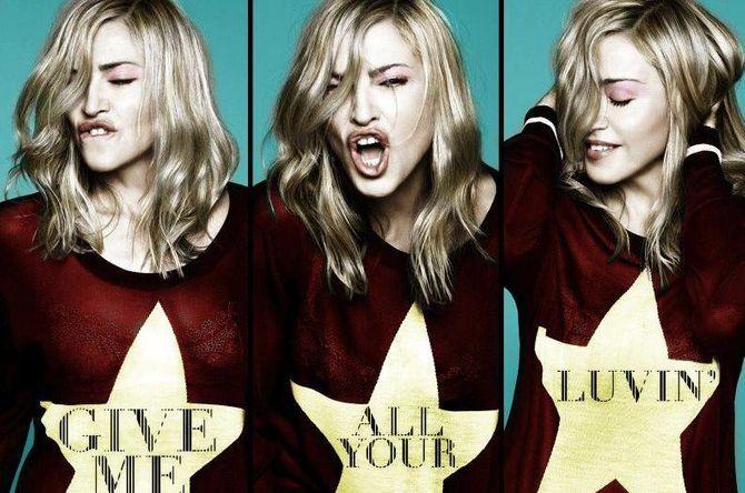 Give Me All Your Luvin nouveau clip de Madonna