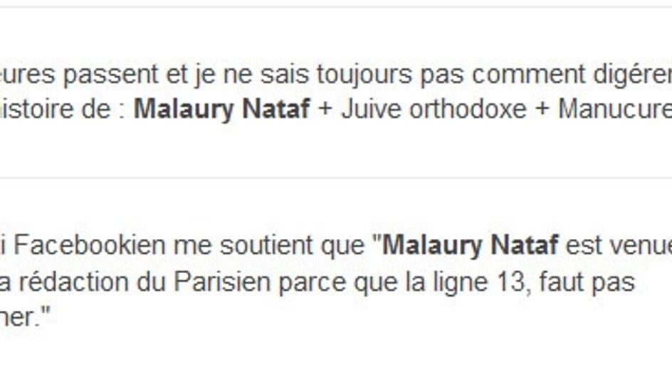 "Mallaury Nataf : Les ""explications"" sur sa manucure"