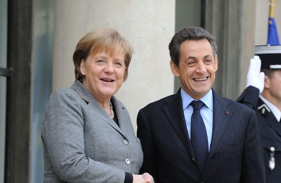 Nicolas Sarkozy : Angela Merkel le soutient sur tous les plans