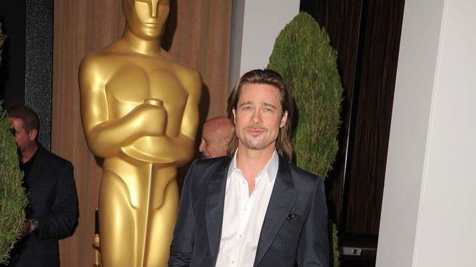 Brad Pitt : Tout en Vuitton au déjeuner annuel des Oscars